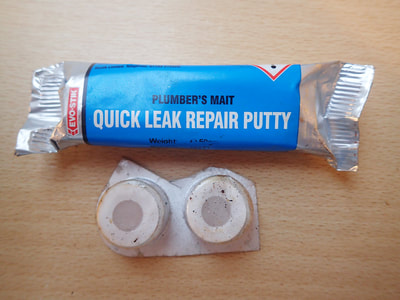 two different types of two part putty